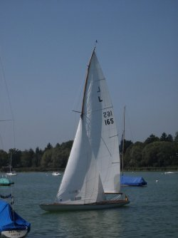 L 165 am Ammersee